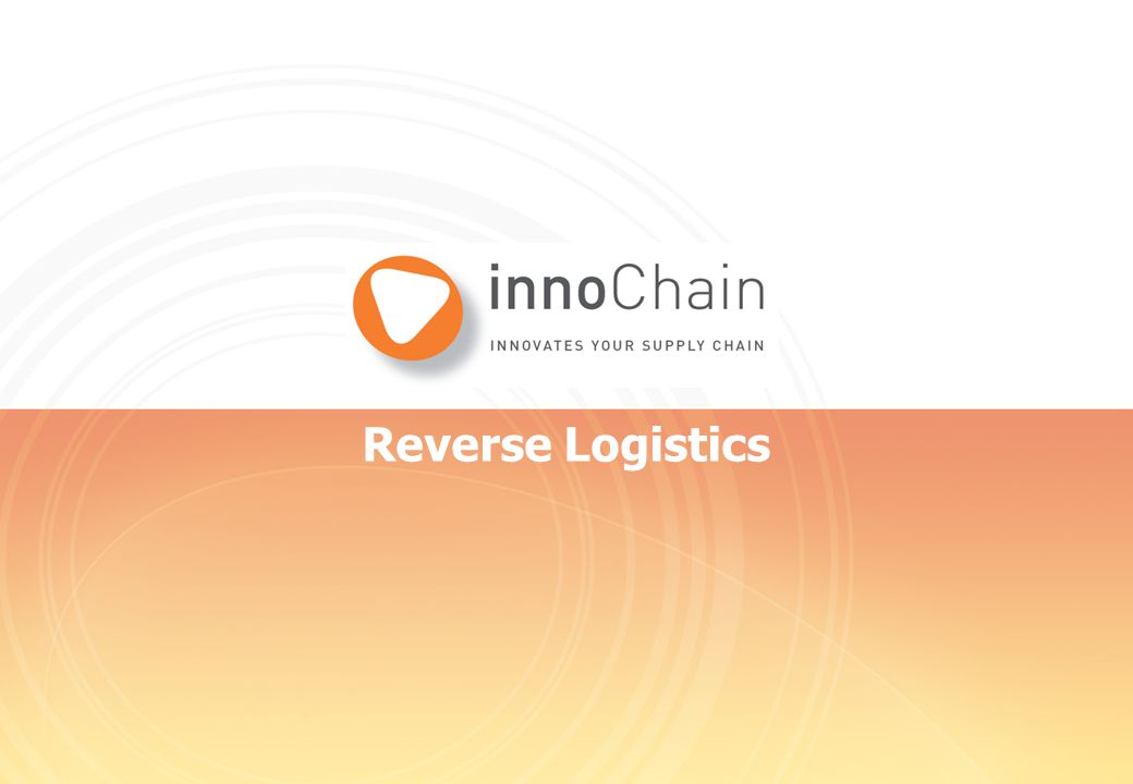 Reverse Logistics 1