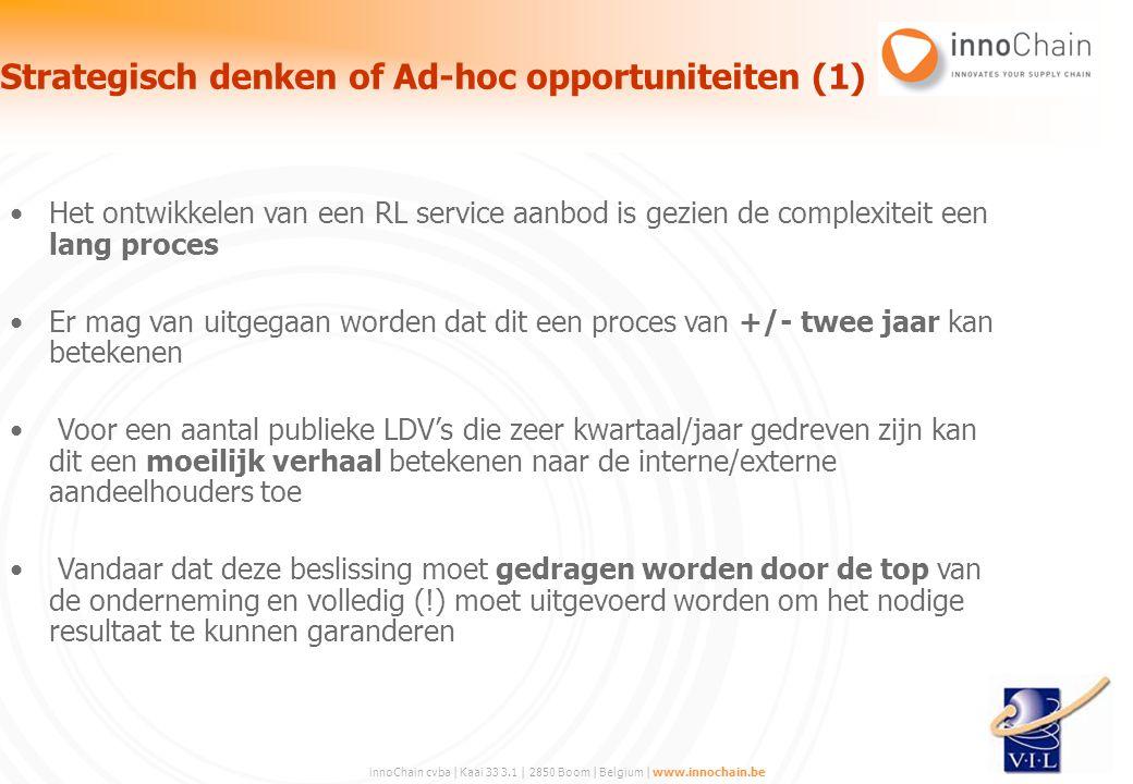 Strategisch denken of Ad-hoc opportuniteiten (1)