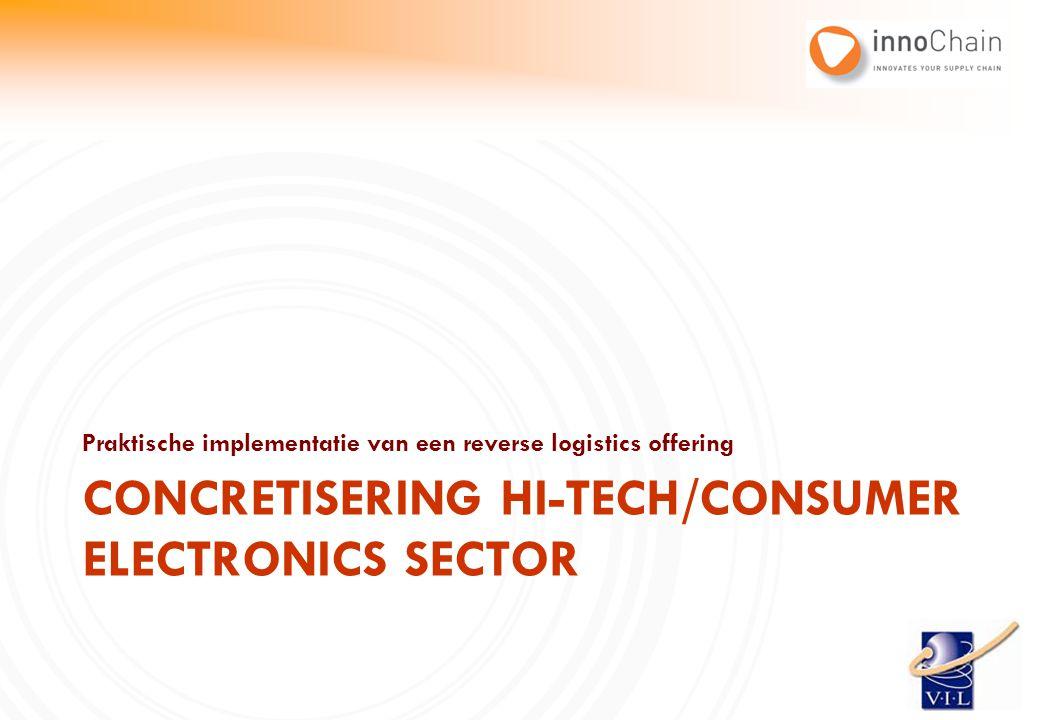 Concretisering Hi-tech/consumer electronics sector