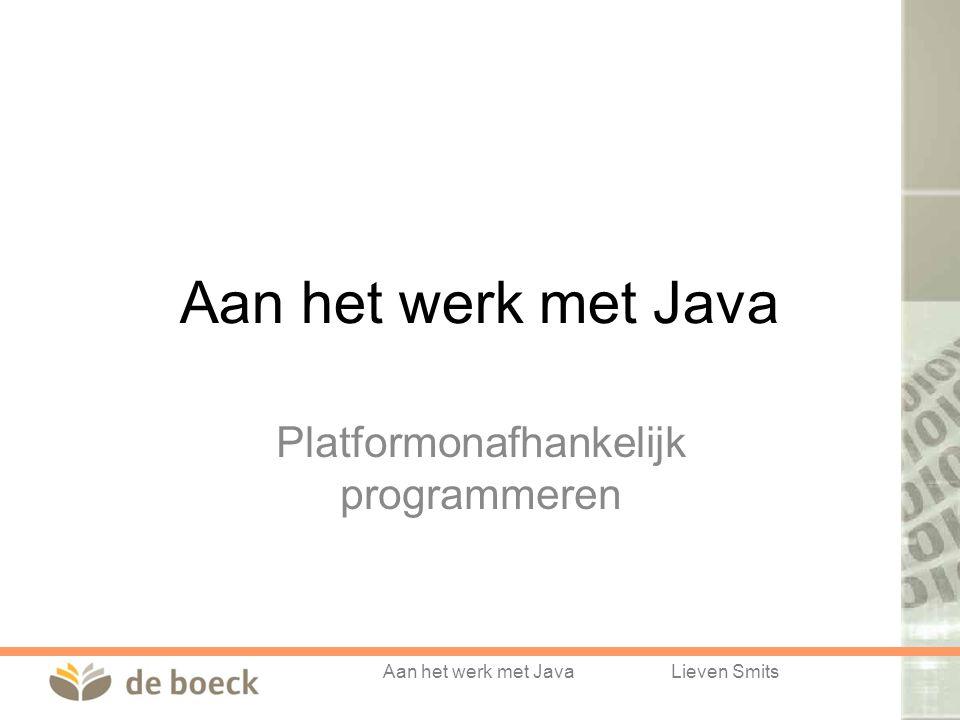 Platformonafhankelijk programmeren