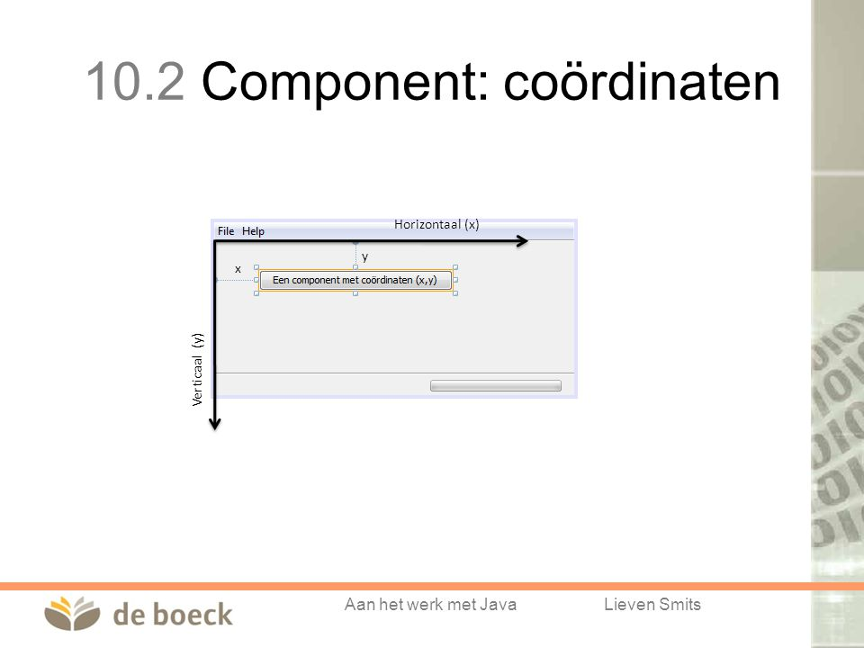 10.2 Component: coördinaten