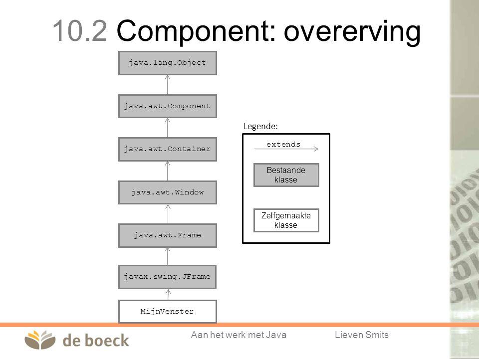 10.2 Component: overerving