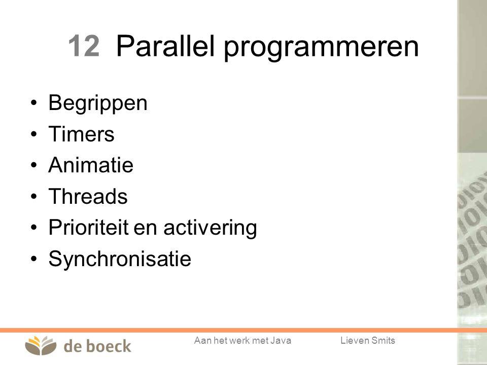 12 Parallel programmeren