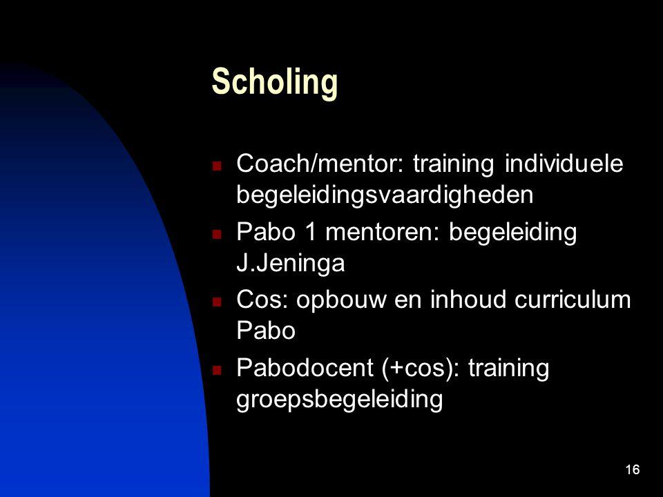 Scholing Coach/mentor: training individuele begeleidingsvaardigheden