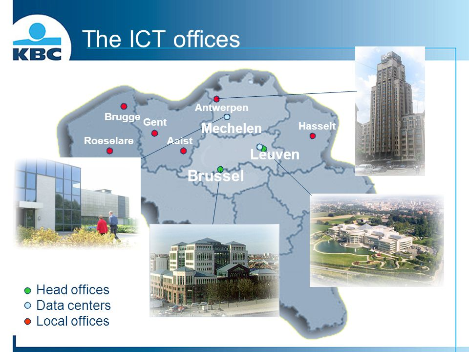 The ICT offices Brussel Leuven Mechelen