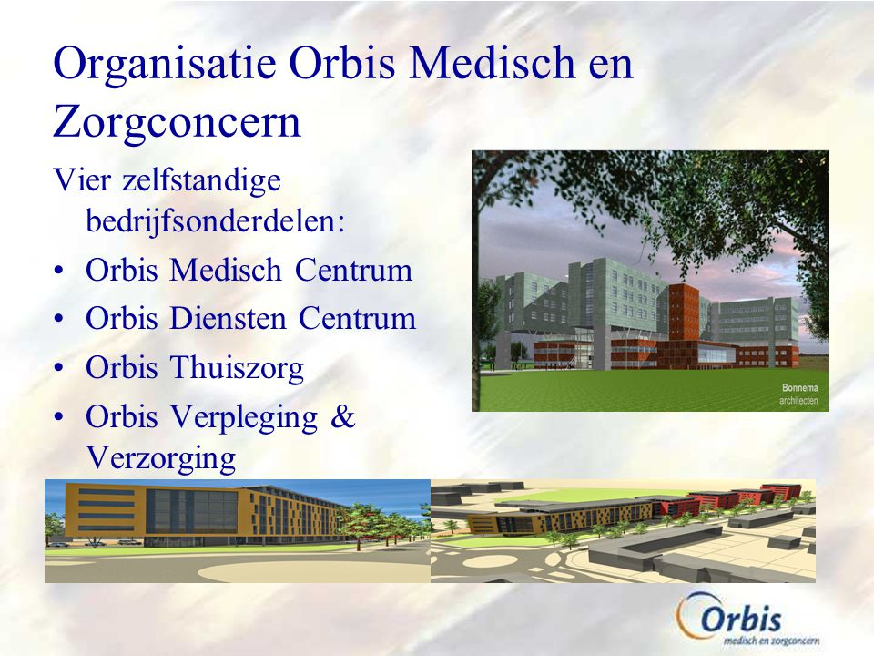 Organisatie Orbis Medisch en Zorgconcern