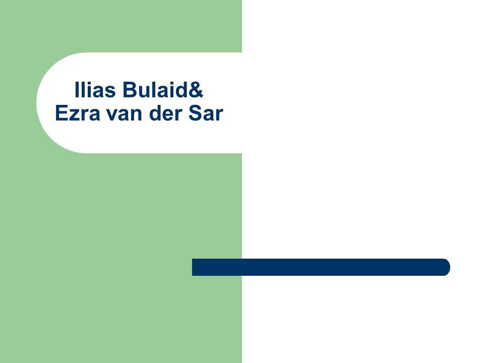 Ilias Bulaid& Ezra van der Sar