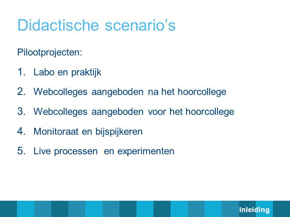 Didactische scenario's