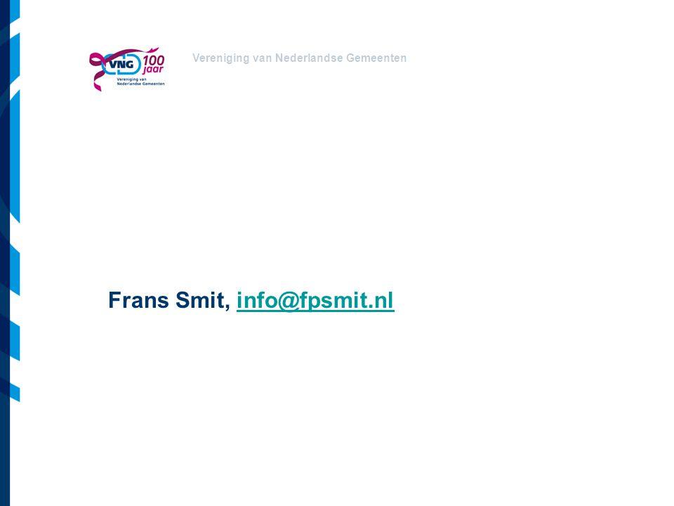 Frans Smit, info@fpsmit.nl