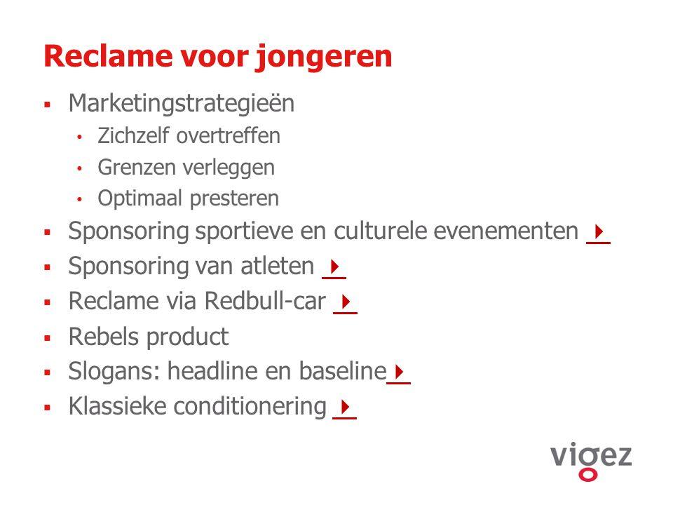 Reclame voor jongeren Marketingstrategieën