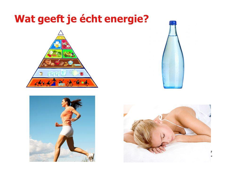 Wat geeft je écht energie