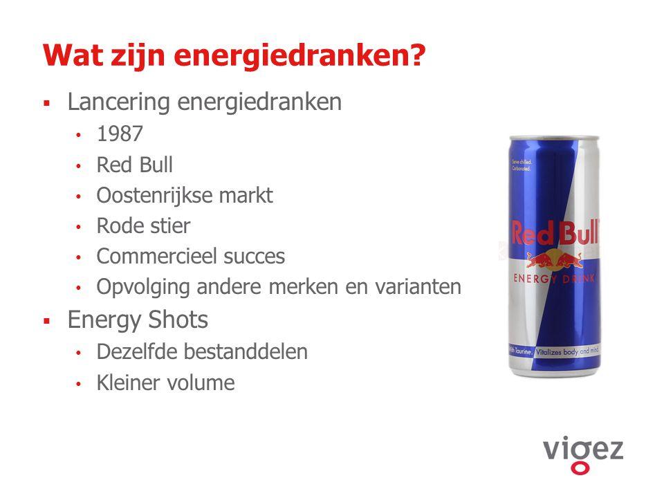 Wat zijn energiedranken
