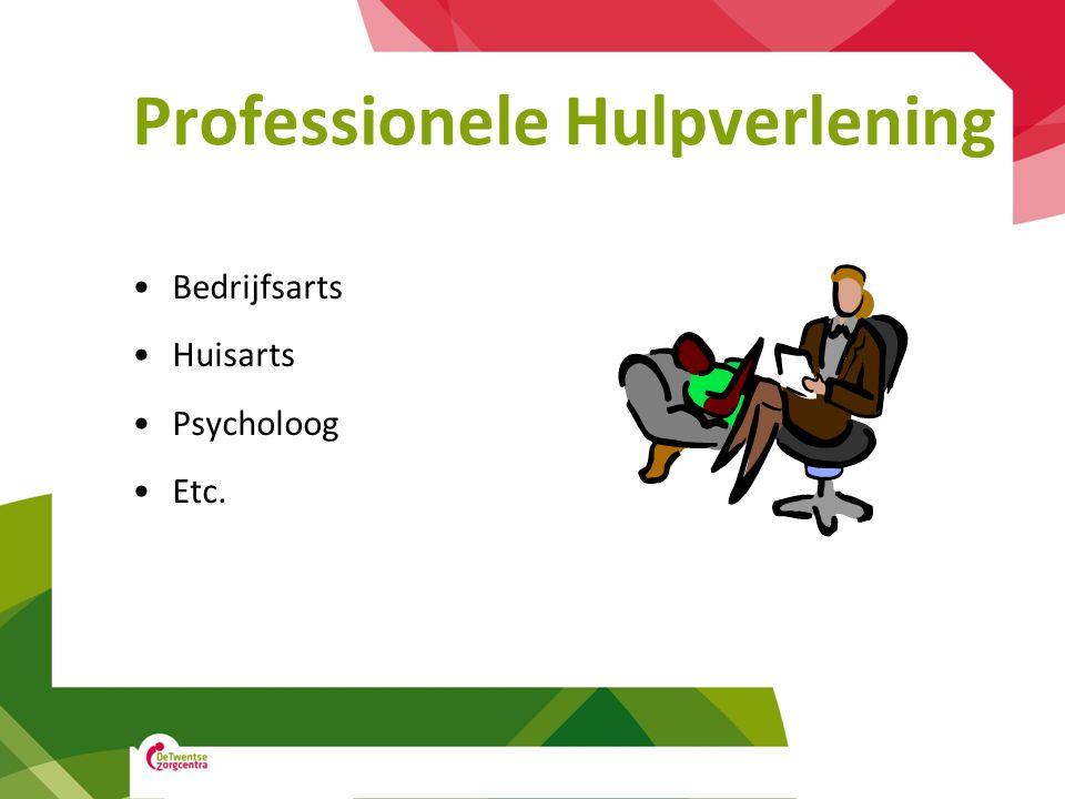Professionele Hulpverlening