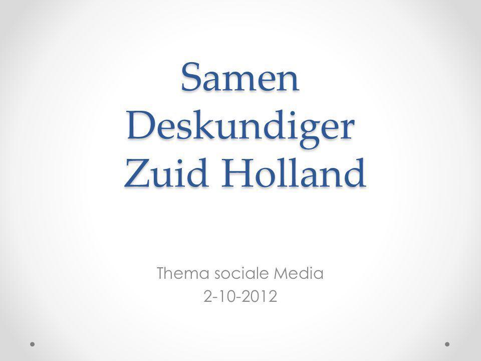 Samen Deskundiger Zuid Holland