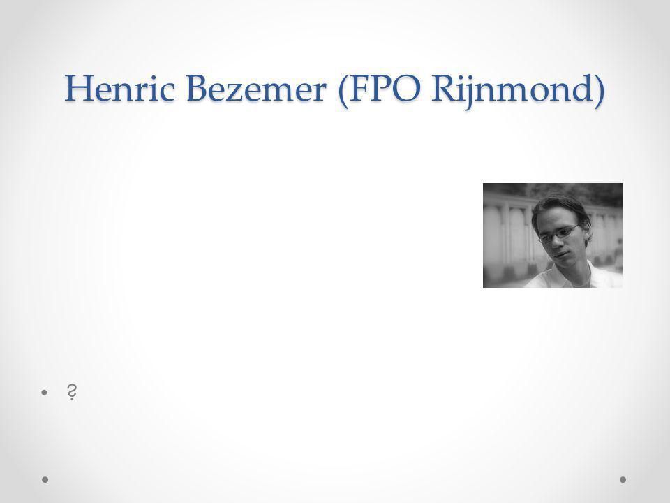 Henric Bezemer (FPO Rijnmond)