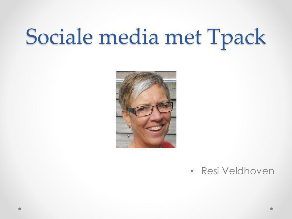 Sociale media met Tpack