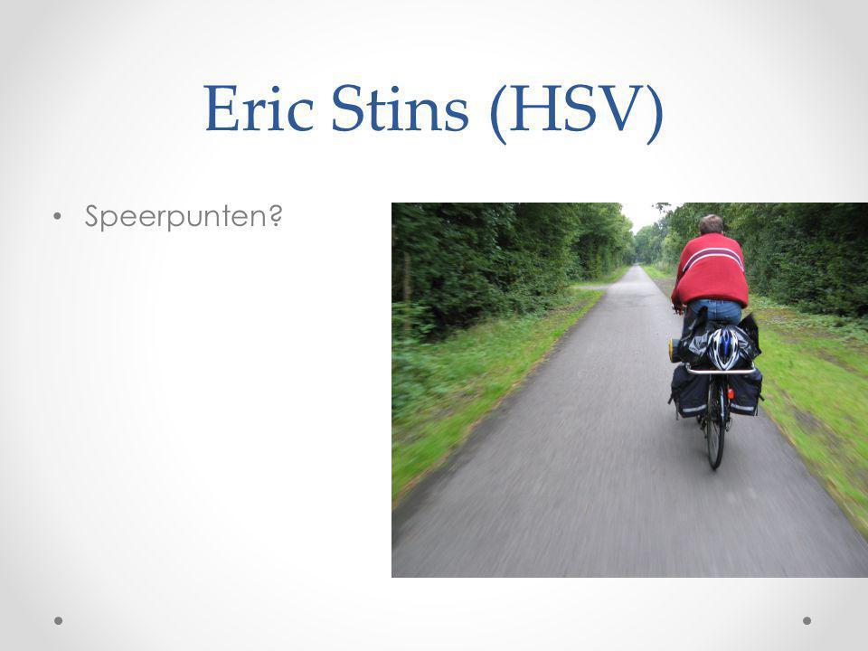 Eric Stins (HSV) Speerpunten