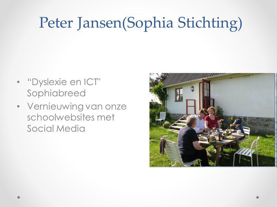 Peter Jansen(Sophia Stichting)