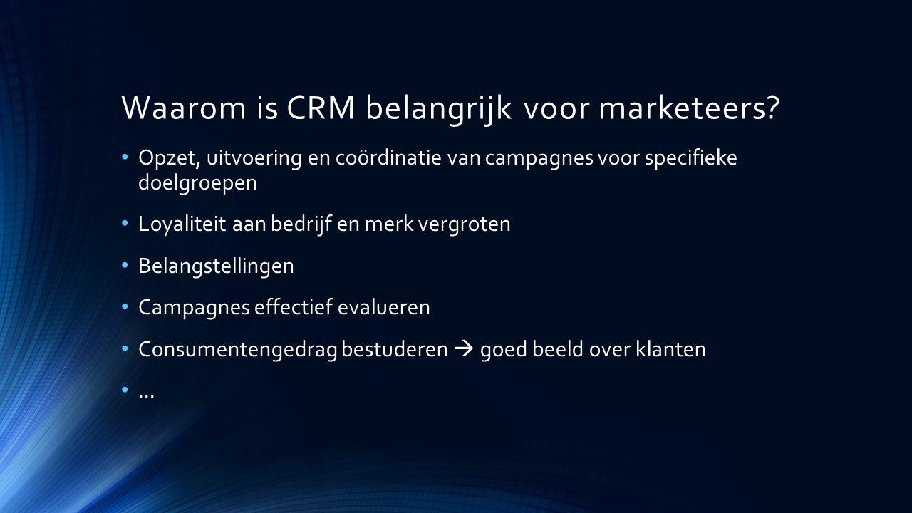 Waarom is CRM belangrijk voor marketeers