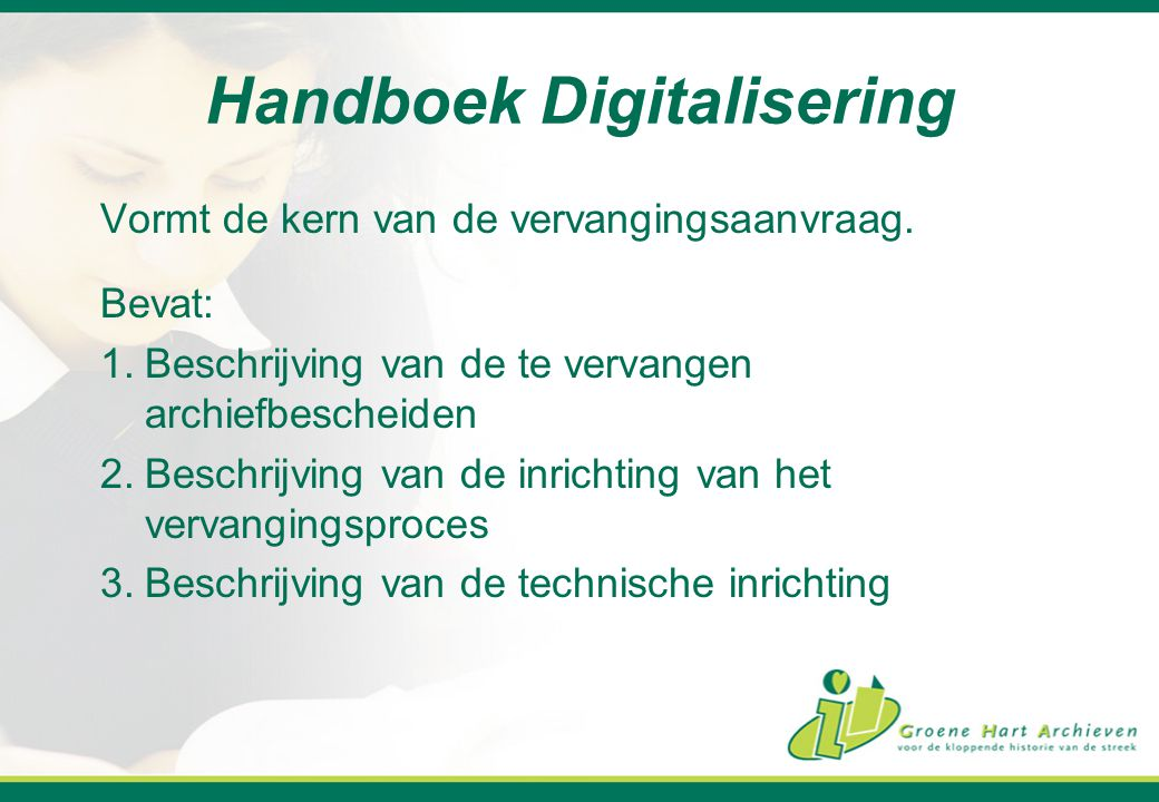 Handboek Digitalisering