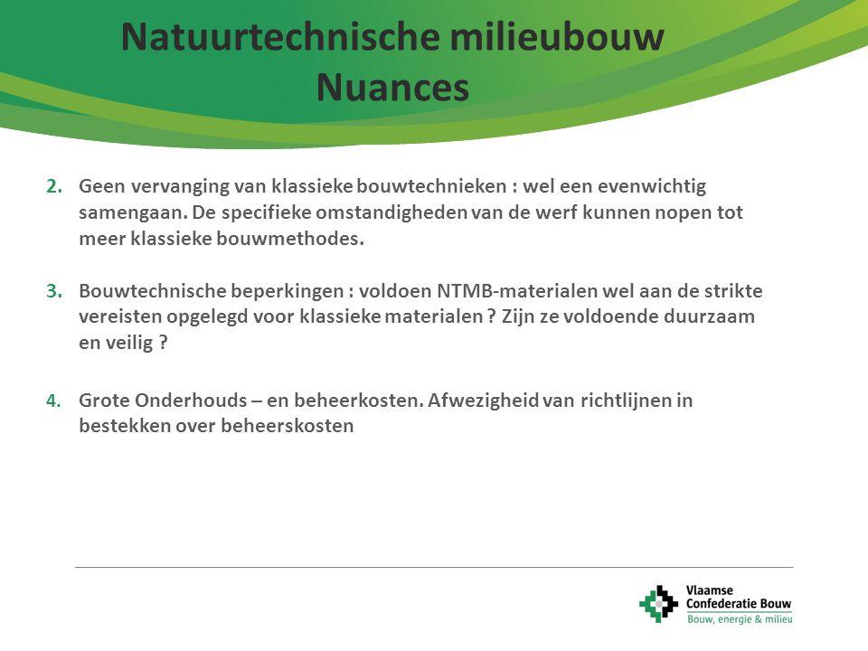 Natuurtechnische milieubouw Nuances