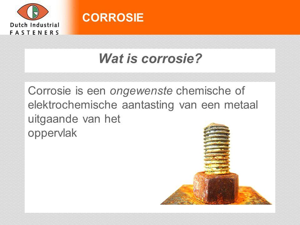 Wat is corrosie CORROSIE