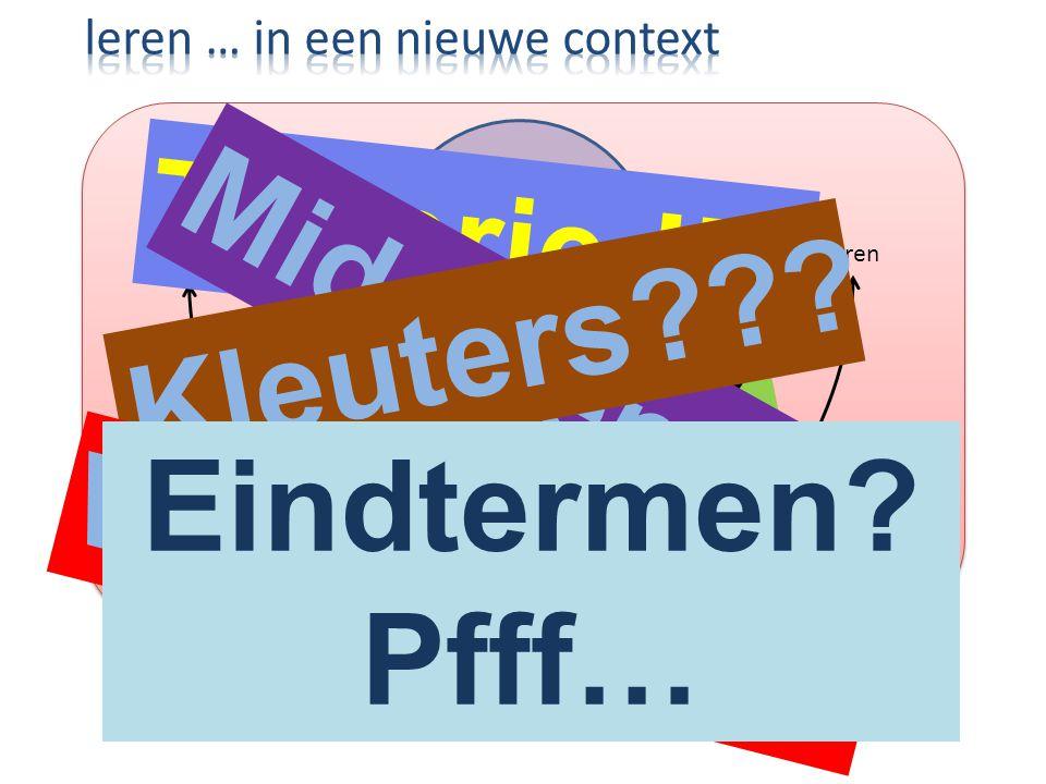 Theorie !!! Middelen Kleuters Tijd Eindtermen Werkboek !!!