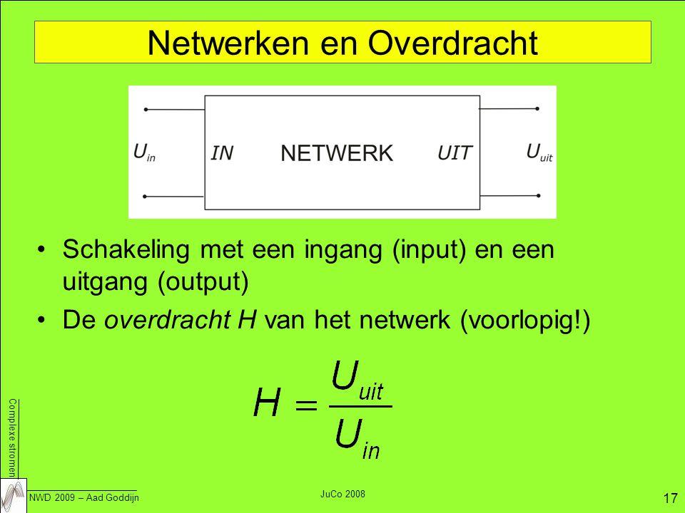 Netwerken en Overdracht