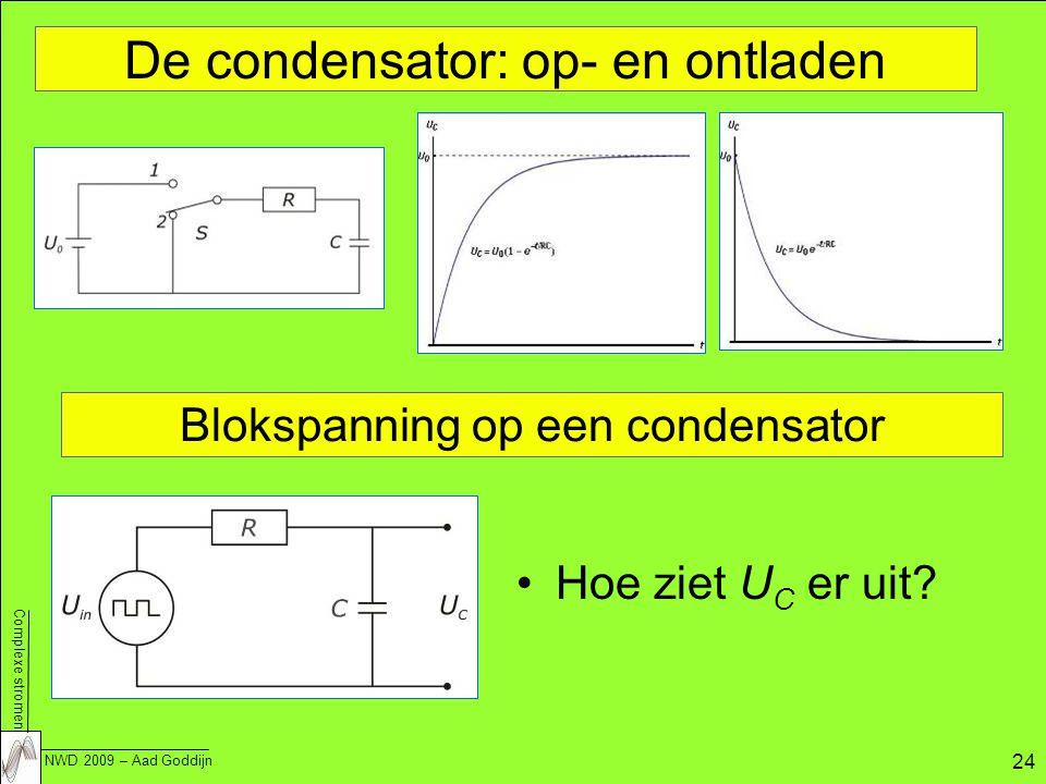 De condensator: op- en ontladen