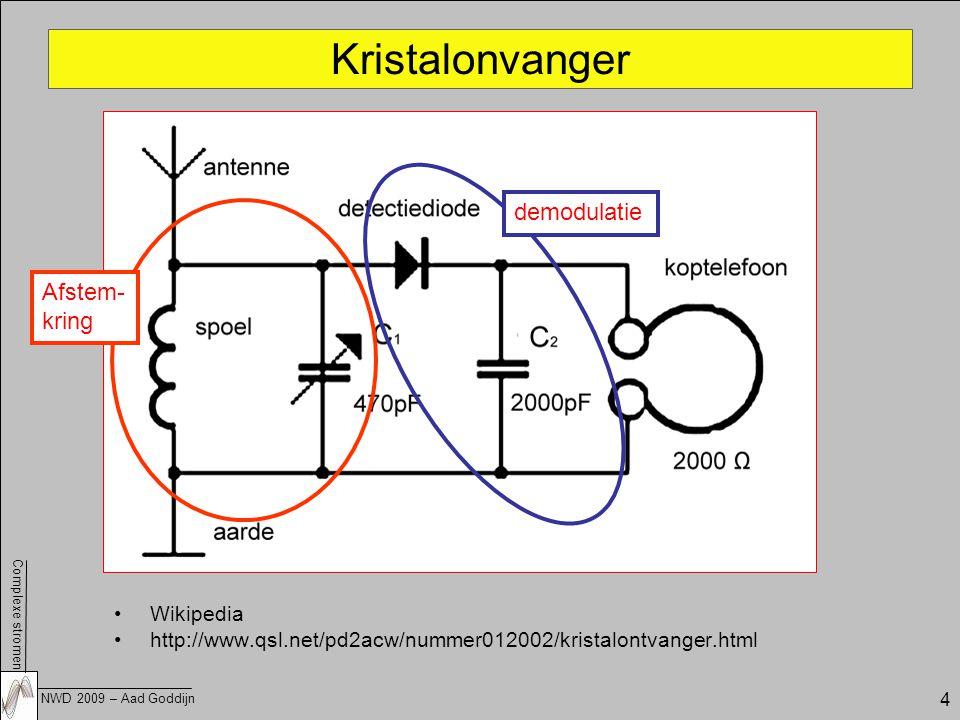 Kristalonvanger demodulatie Afstem- kring Wikipedia