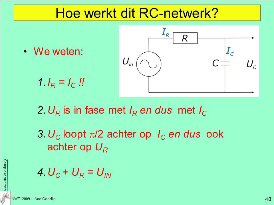 Hoe werkt dit RC-netwerk