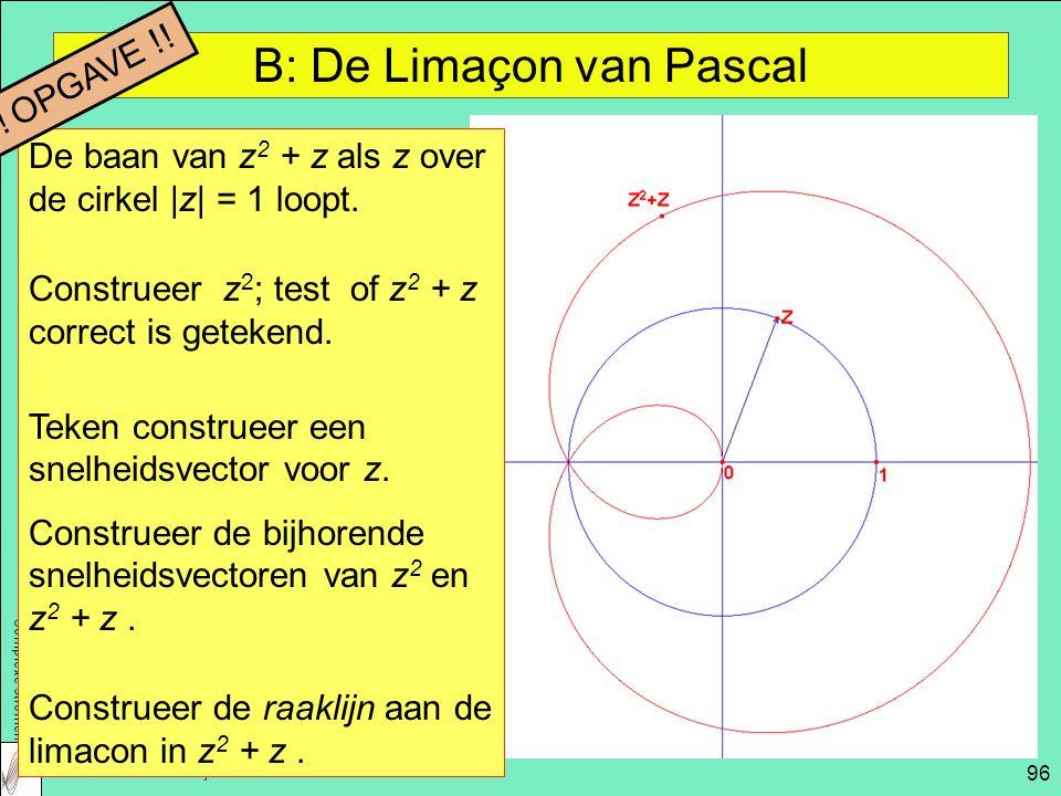 B: De Limaçon van Pascal
