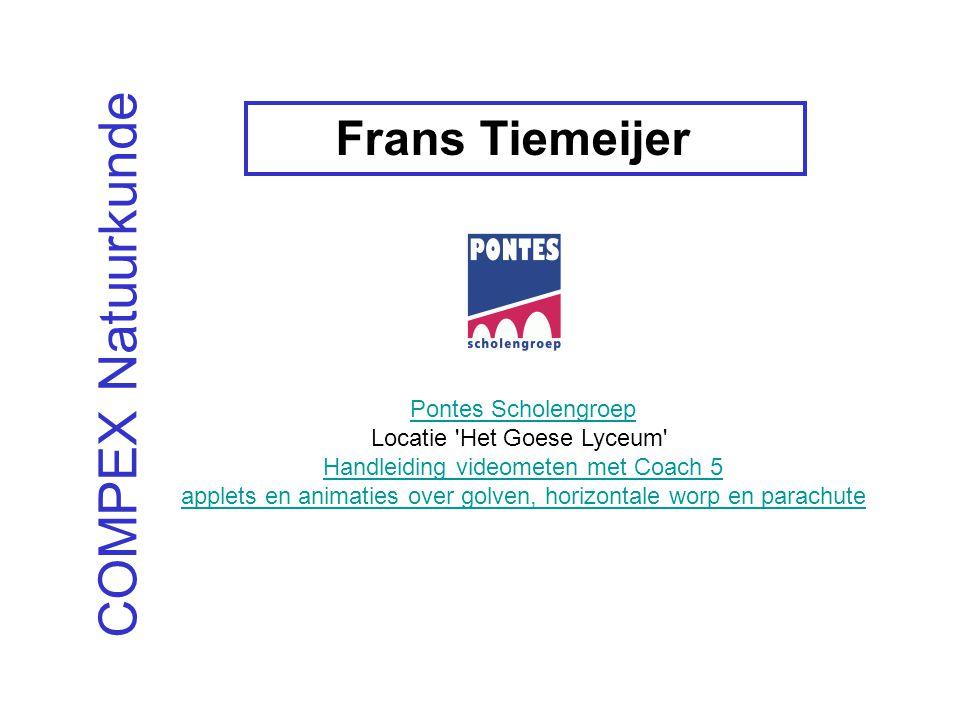 COMPEX Natuurkunde Frans Tiemeijer