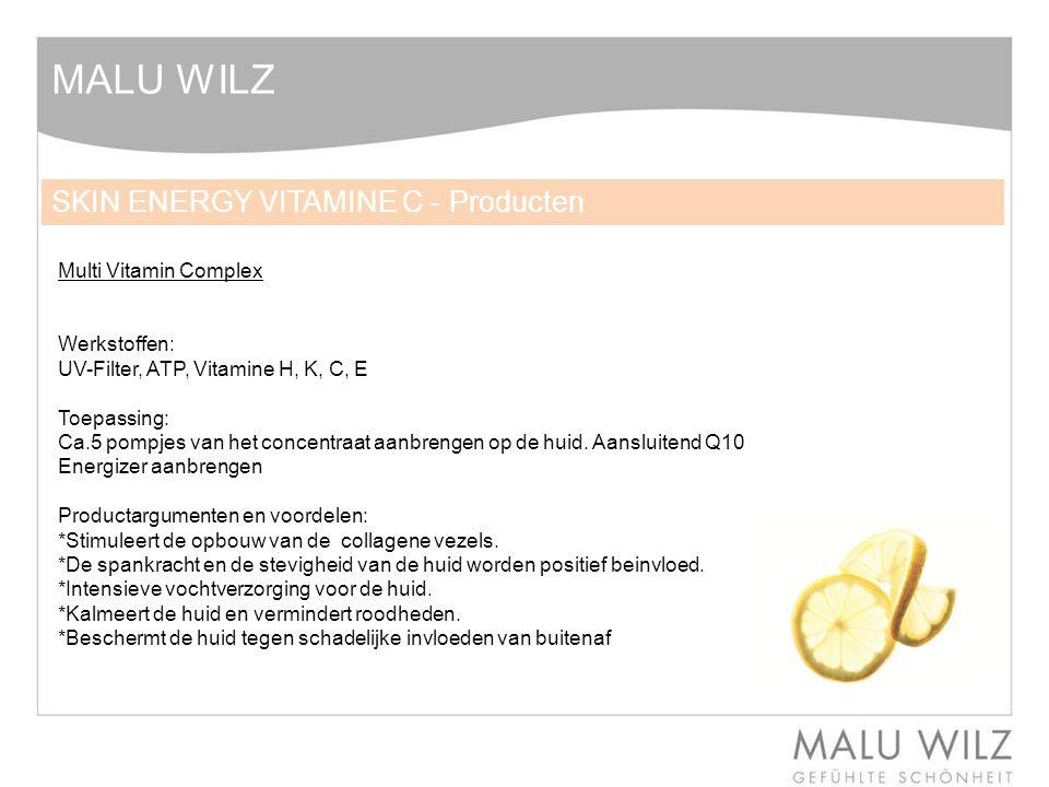 MALU WILZ SKIN ENERGY VITAMINE C - Producten Multi Vitamin Complex