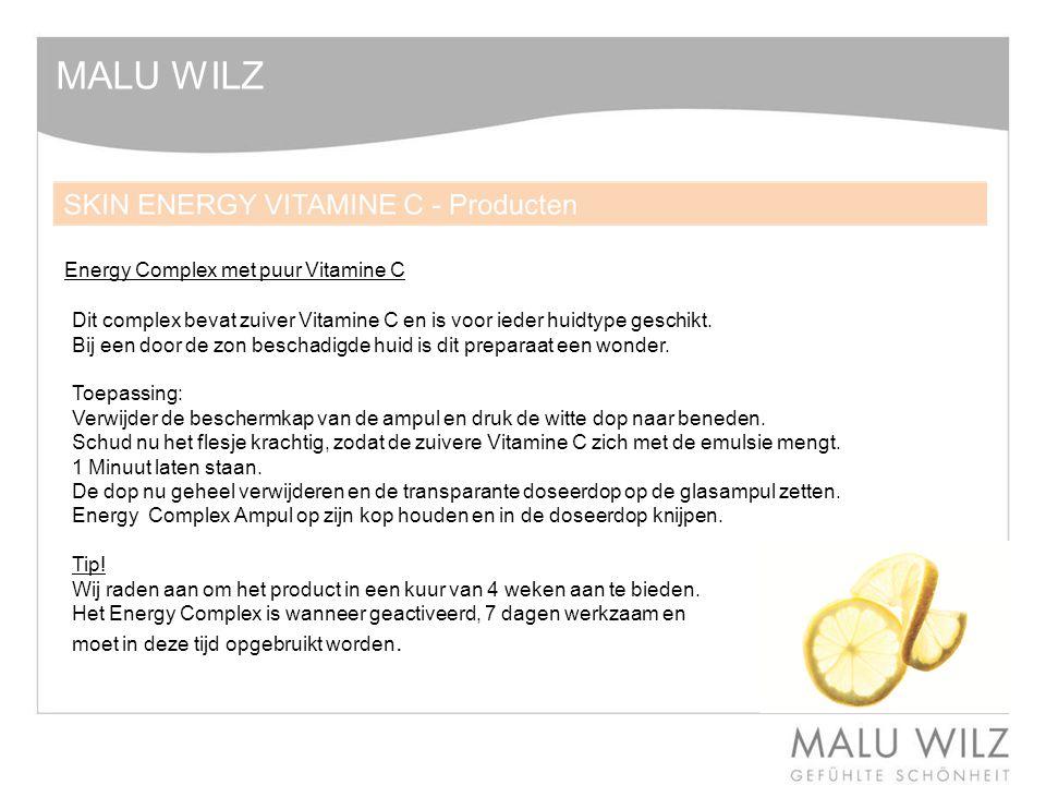 MALU WILZ Energy Complex met puur Vitamine C