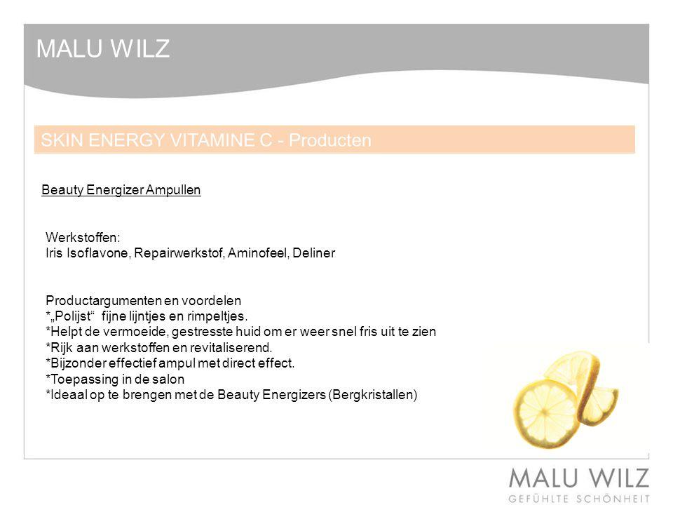 MALU WILZ Beauty Energizer Ampullen Werkstoffen: