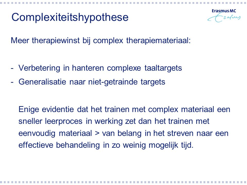 Complexiteitshypothese