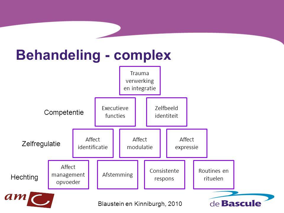 Behandeling - complex Competentie Zelfregulatie Hechting