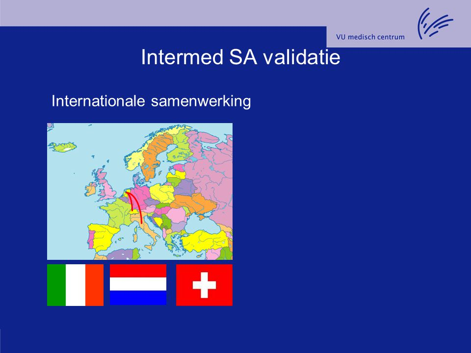 Intermed SA validatie Internationale samenwerking
