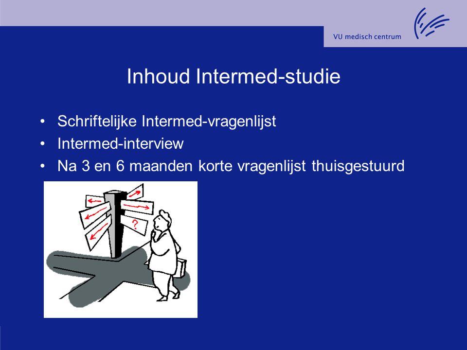 Inhoud Intermed-studie