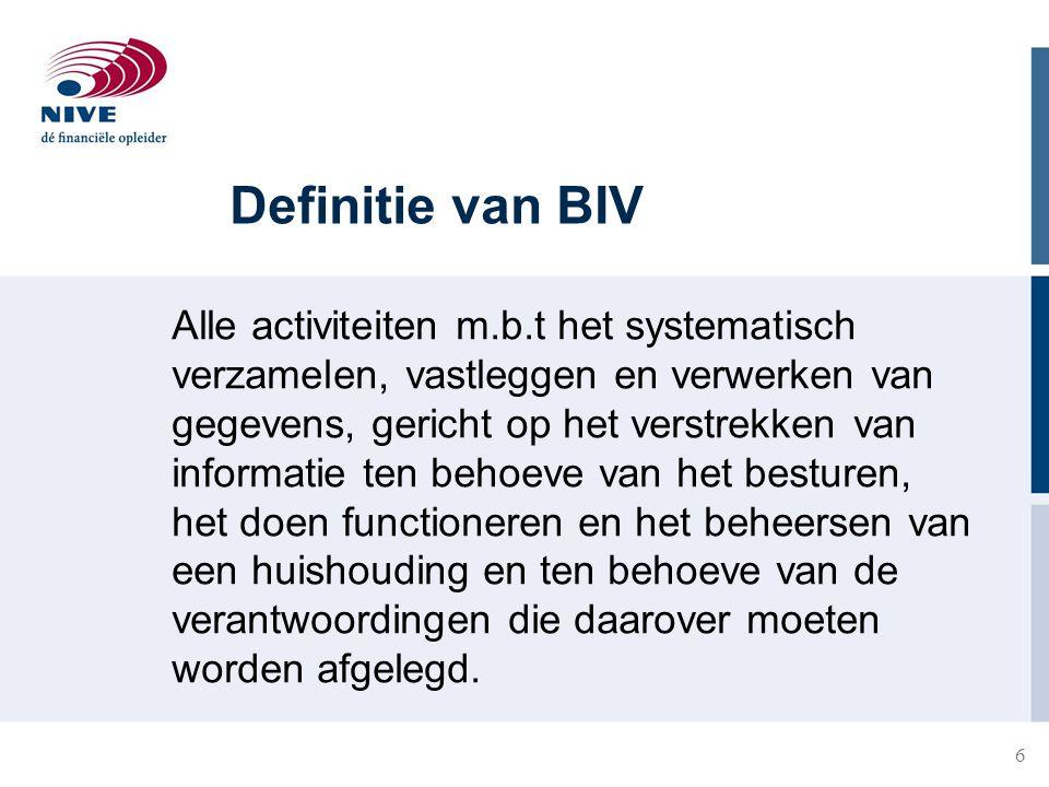 Definitie van BIV