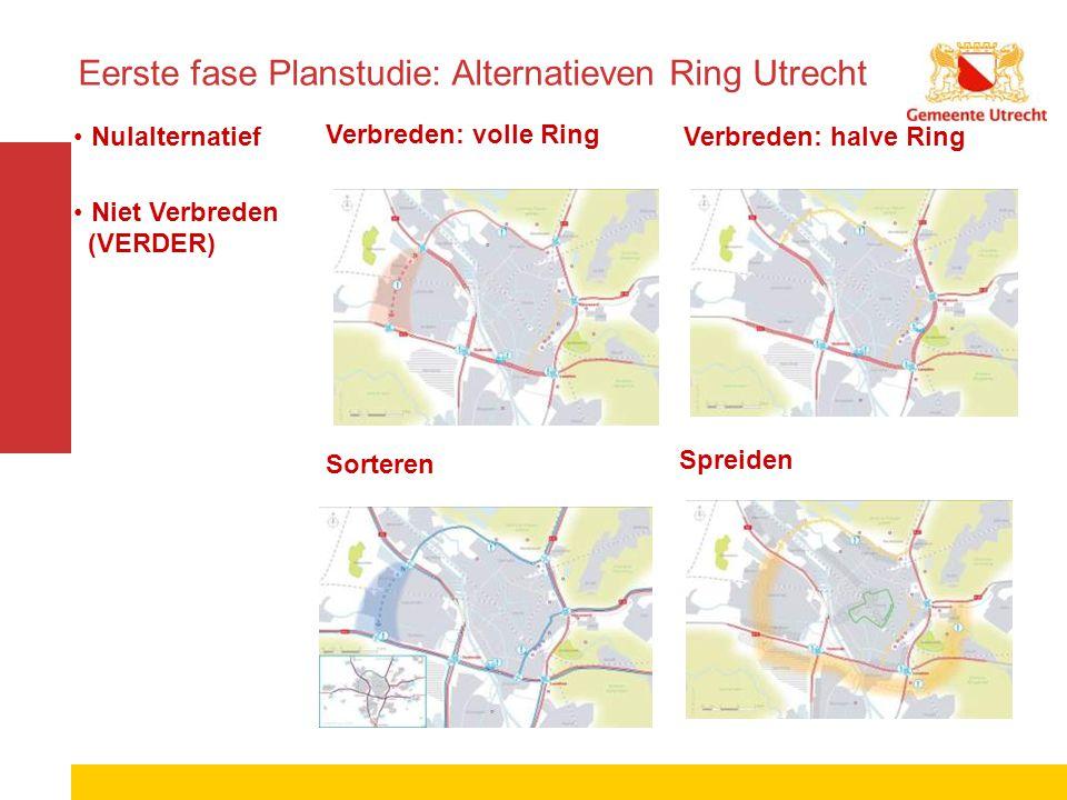 Eerste fase Planstudie: Alternatieven Ring Utrecht