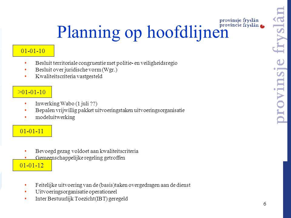 30 september 2009 Kamer akkoord packagedeal en uitstel Wabo; ministers informeren 2e Kamer