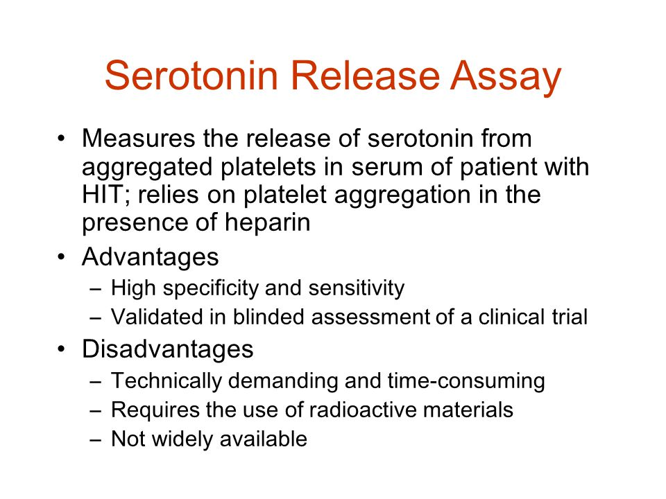 Serotonin Release Assay