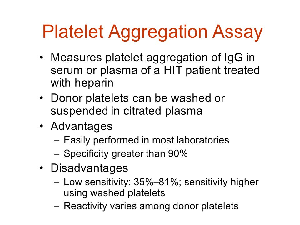 Platelet Aggregation Assay