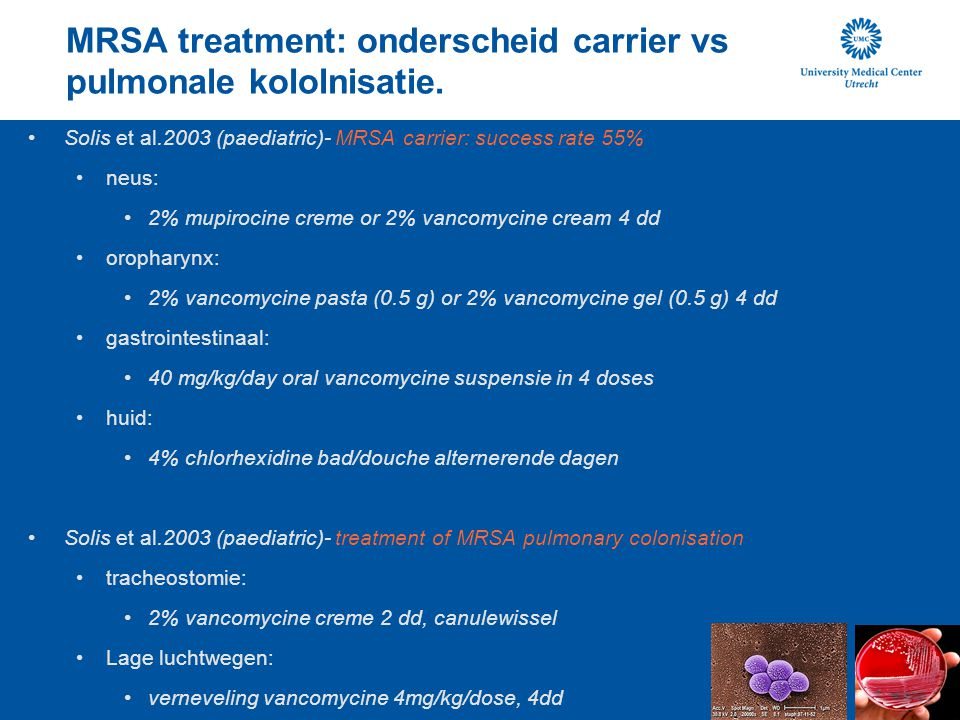 mrsa treatment