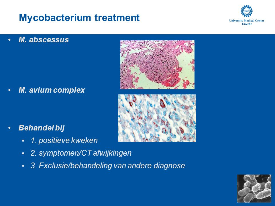 Mycobacterium treatment