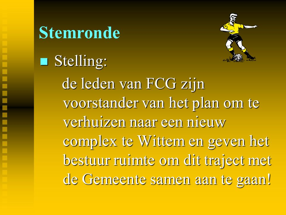 Stemronde Stelling: