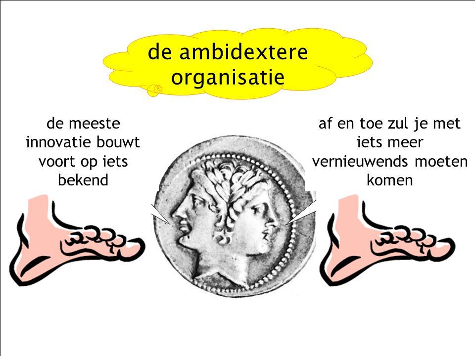 de ambidextere organisatie
