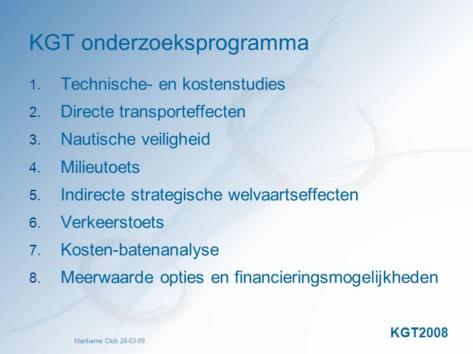KGT onderzoeksprogramma